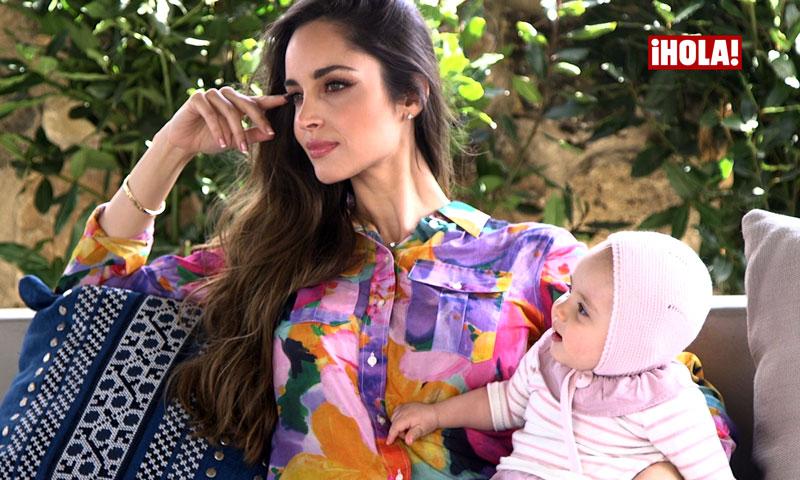 En vídeo: Lorena Van Heerde, una mamá 'top' un año después de nacer su hija Alexia