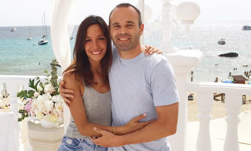 Andrés Iniesta y Anna Ortiz están esperando su tercer hijo