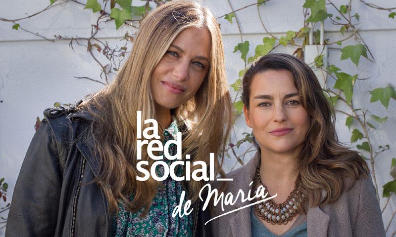 Martina Klein en 'La red social': 'Érika es el broche perfecto a esta aventura que vivo con Álex'