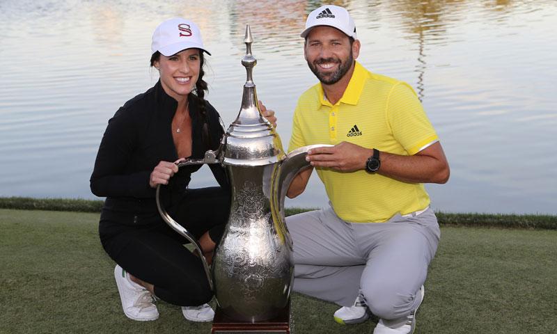 La doble felicidad del golfista Sergio García