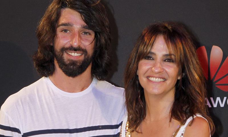 Melani Olivares da a luz a su tercer hijo, Lucho