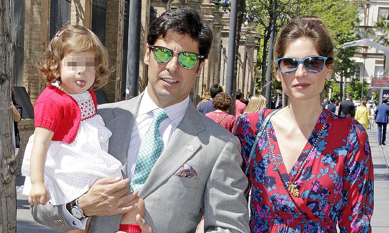 Las imágenes más entrañables de Francisco Rivera y Lourdes Montes con su hija Carmen
