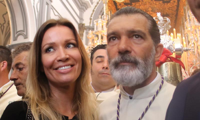 Antonio Banderas en su Semana Santa más especial tras el susto que vivió el pasado mes de enero