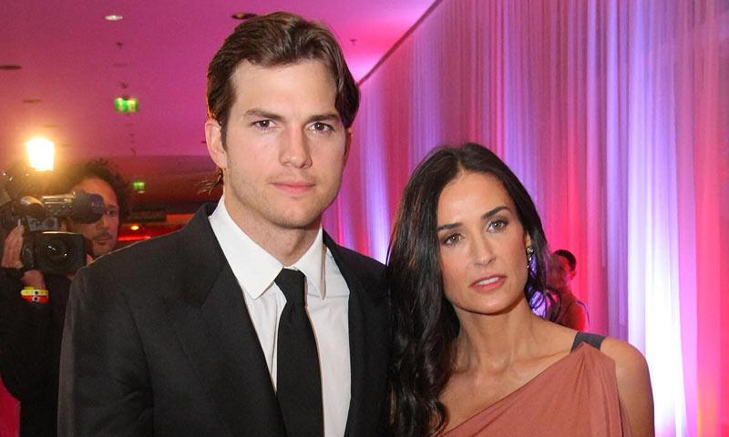 Ashton Kutcher revela por primera vez cómo fue su divorcio de Demi Moore