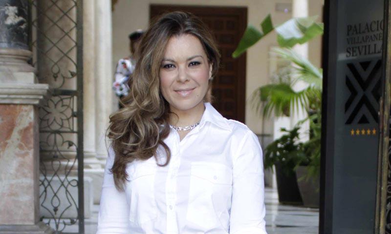 Primicia: María José Campanario pasa la Semana Santa ingresada en el hospital