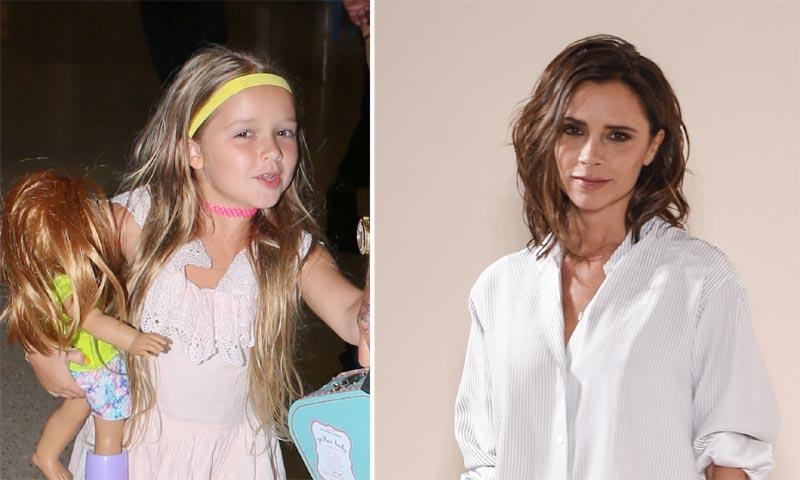Victoria Beckham ya tiene sucesora: ¡así de bien marca el ritmo su hija Harper!