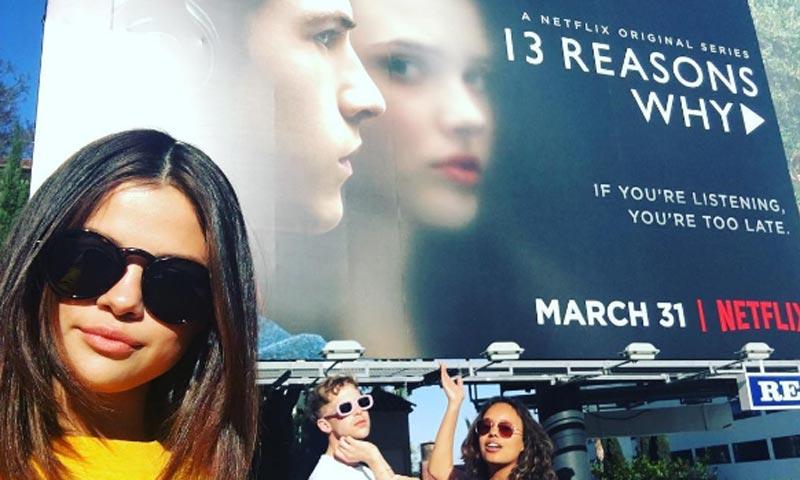 Selena Gómez, productora y alma de la serie que arrasa en Internet, 'Por trece razones'