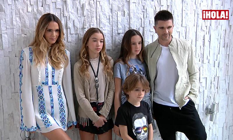 'Making of': Juanes y su musical familia reciben a ¡HOLA! en su casa de Miami