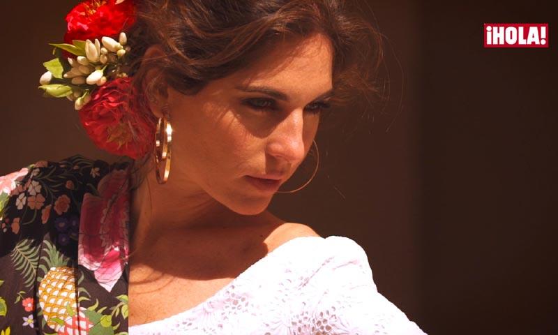 En ¡HOLA!, Lourdes Montes nos muestra su primera colección de trajes de flamenca