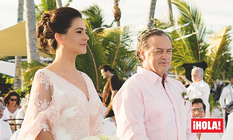 En ¡HOLA! La boda del empresario Jaime Polanco y María Alejandra Villamizar