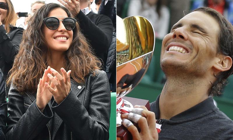 Rafa Nadal sigue haciendo historia ante la atenta mirada de su novia