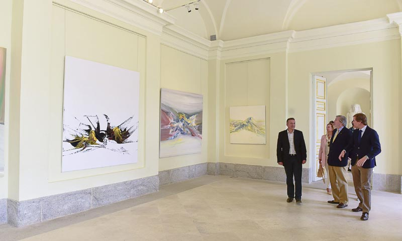 La última exposición de pintura que Sebastián Palomo Linares no pudo inaugurar