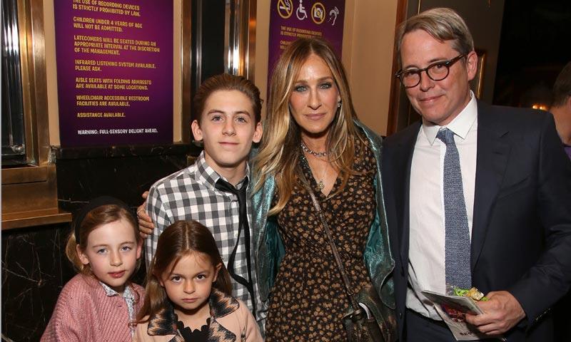 ¡Con mamá a Broadway! El debut de las hijas de Sarah Jessica Parker en la alfombra roja
