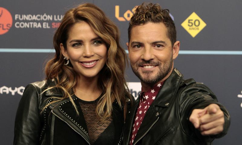 La romántica declaración de David Bisbal a Rosanna Zanetti tras formalizar su relación