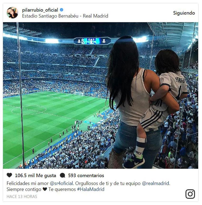 Pilar rubio del gimnasio al campo con sergio jr foto for Gimnasio mejorada del campo