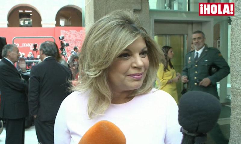 ¿Cómo está llevando Rocío Carrasco el contencioso con Antonio David? Terelu Campos responde