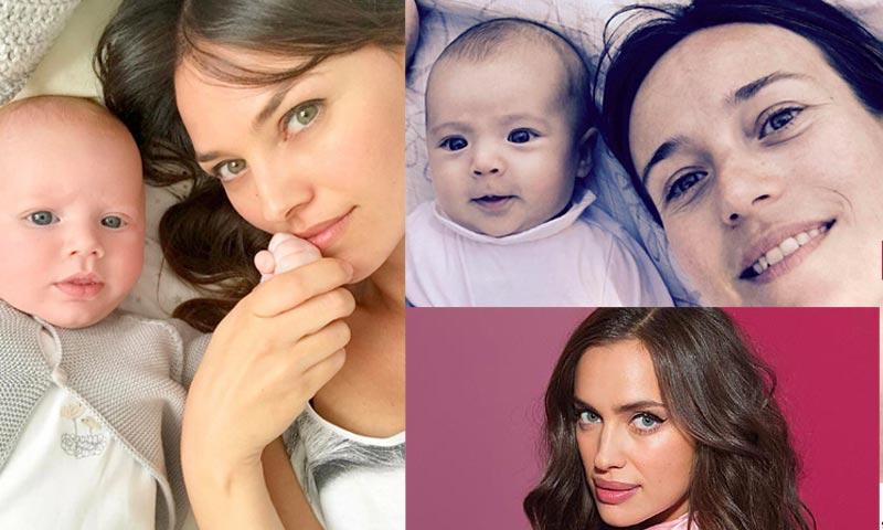 Irina Shayk, Janet Jackson, Marta Etura, Megan Montaner... en su primer Día de la Madre