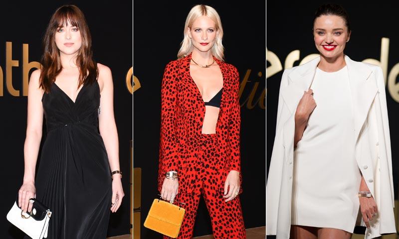 Miranda Kerr, Dakota Johnson, Poppy Delevingne... brillan en la fiesta Panthère de Cartier