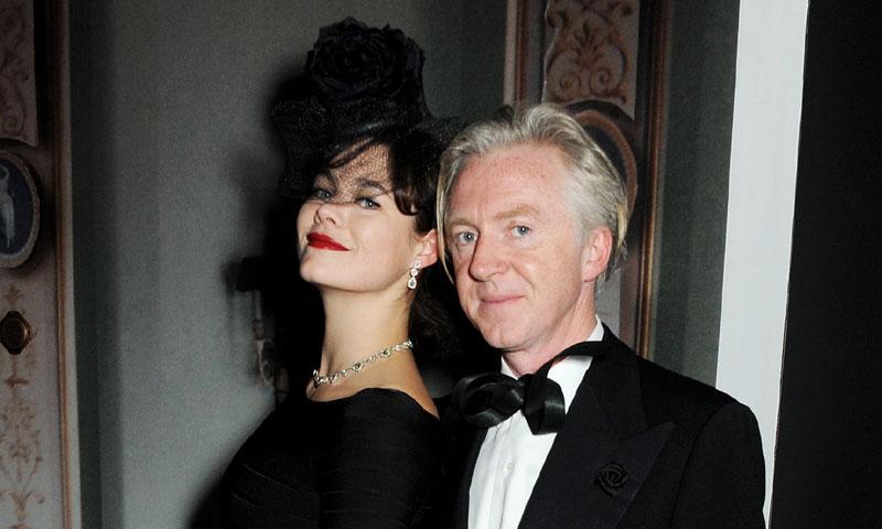 El famoso diseñador de sombreros Philip Treacy se casa con su novio Stefan tras 25 años de relación