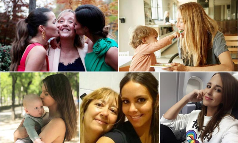 Helen Lindes, Malena Costa, Vanesa Lorenzo... abren sus álbumes familiares en el Día de la Madre