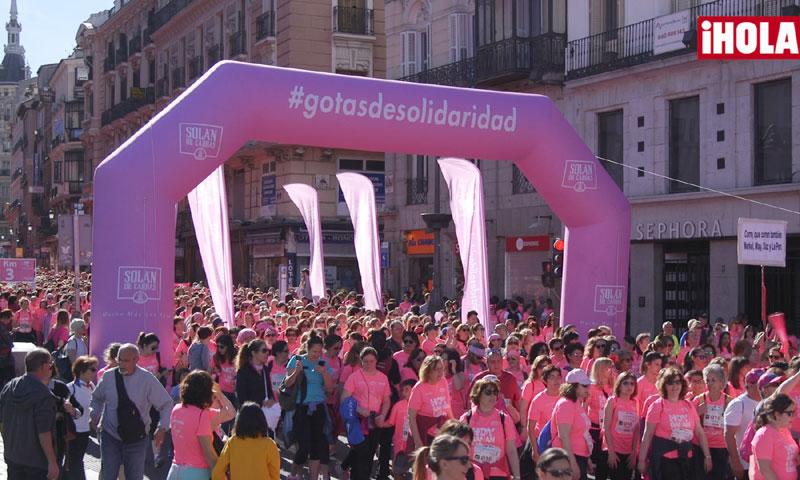 La emotiva marea rosa ha invadido un año más las calles de Madrid