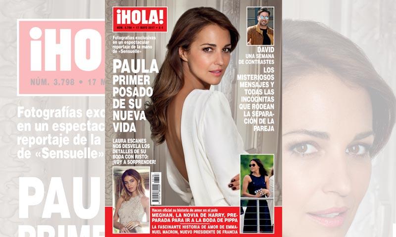 En ¡HOLA! Paula, primer posado de su nueva vida: fotografías exclusivas en un espectacular reportaje de la mano de 'Sensuelle'