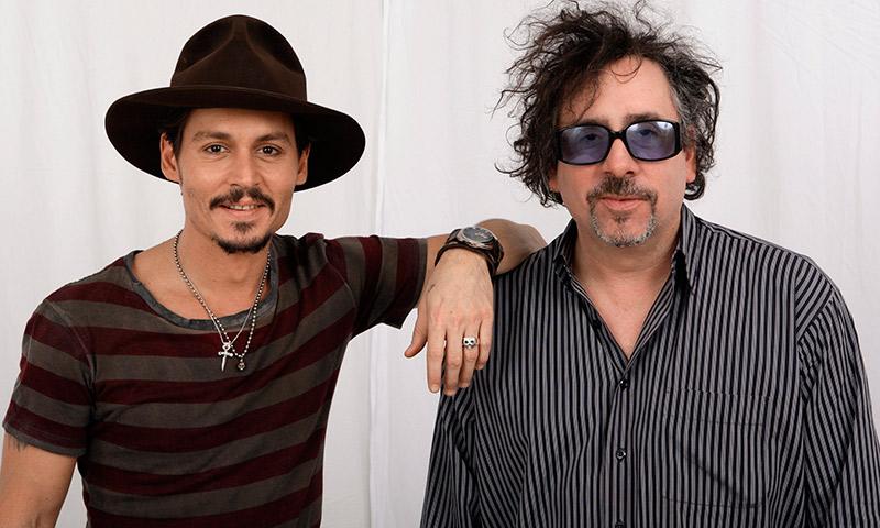 Tim Burton, lejos de Johnny Depp en su momento más delicado