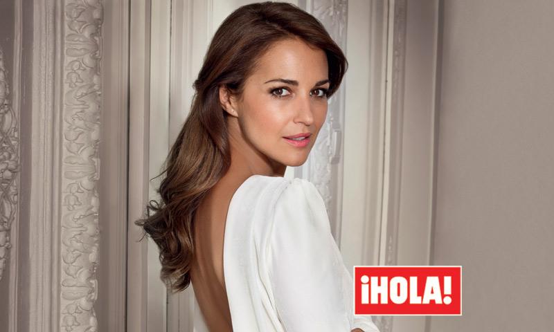 El reportaje fotográfico de Paula Echevarría en ¡HOLA! es exclusivo