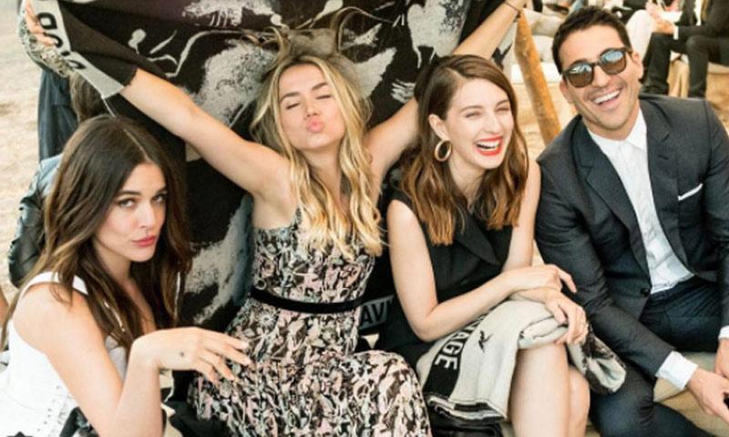 El look de Adriana Ugarte, a punto de jugarle una mala pasada en la fiesta Dior