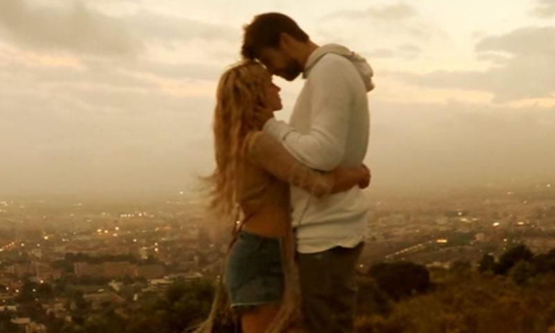 Piqué, el 'invitado favorito' de Shakira en su nuevo videoclip