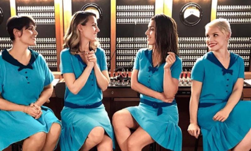 Soraya, Edurne, Rosa... la divertida parodia que ha reunido a las chicas de Eurovisión