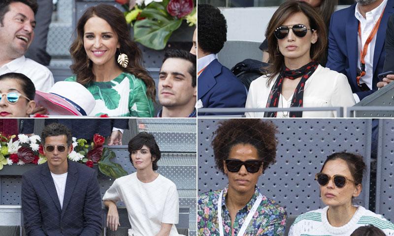 Paula Echevarría, Nieves Álvarez, Paz Vega... apoyan a Nadal en su victoria en Madrid