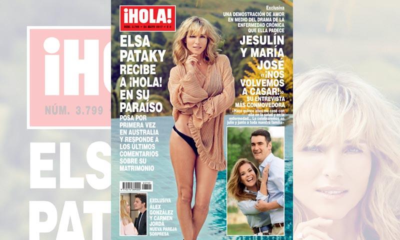 Elsa Pataky recibe a ¡HOLA! en su paraíso