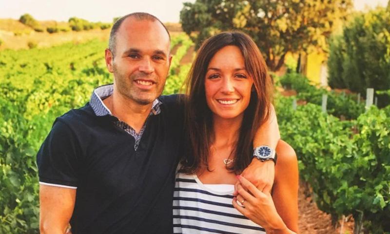 Andrés Iniesta y Anna Ortiz, padres por tercera vez de una niña