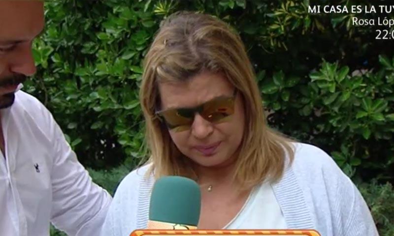 Terelu Campos, sin poder contener las lágrimas al hablar de la evolución de su madre