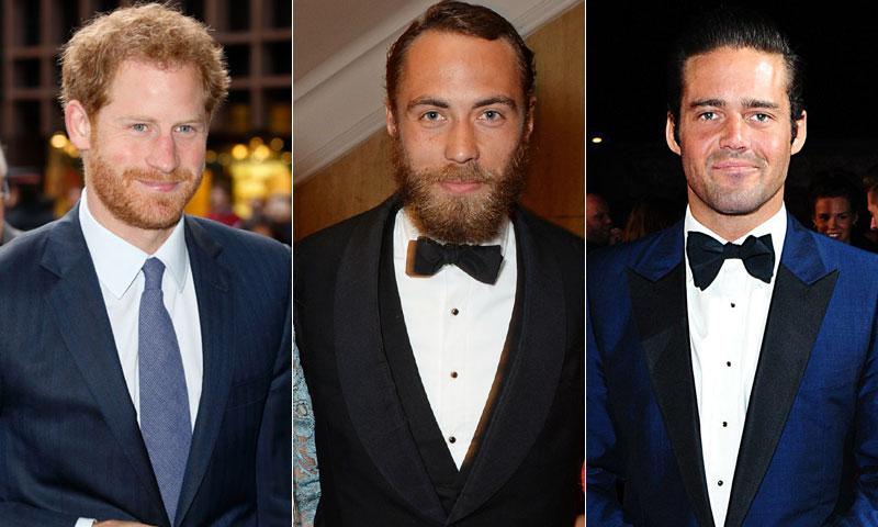 Los tres solteros 'bomba' en la boda de Pippa Middleton