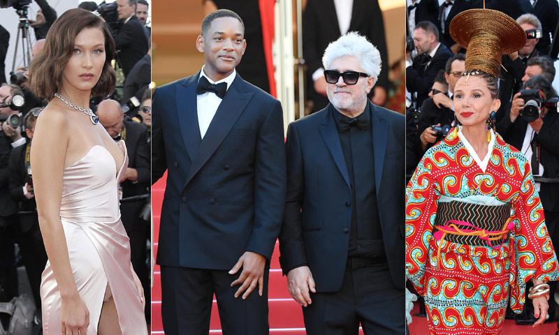 El descuido de Bella Hadid, el look de Victoria Abril o el enfrentamiento entre Almodóvar y Will Smith...¡Todo es posible en Cannes!
