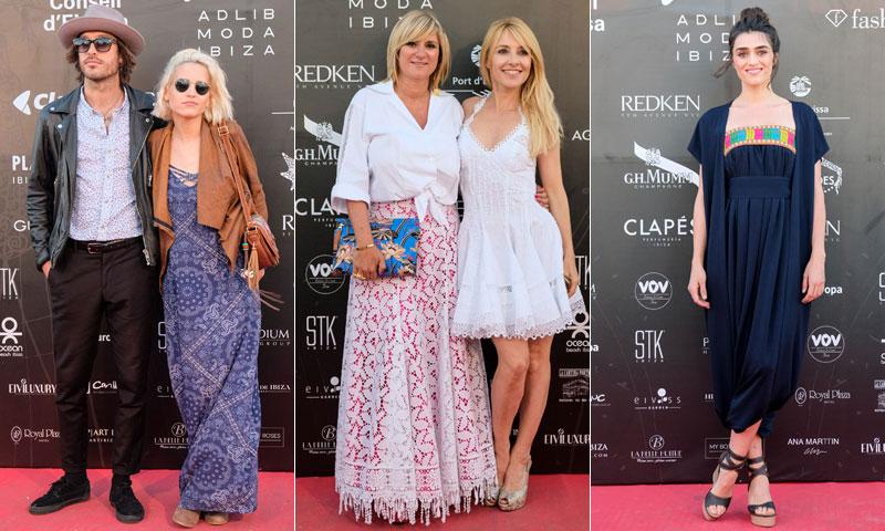 Cayetana Guillén Cuervo, Ana Fernández, Isabel Jiménez… amantes de la moda ibicenca