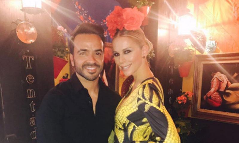 ¡Mucho flamenquito y un poco de Despacito! Luis Fonsi se graba 'bailando' en la Feria de Córdoba