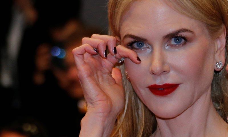 Las lágrimas de Nicole Kidman en Cannes
