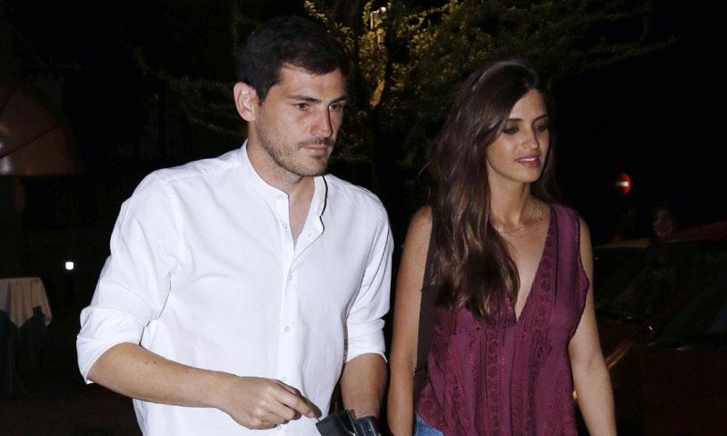 Iker Casillas y Sara Carbonero, una cena en Madrid con mucho que celebrar