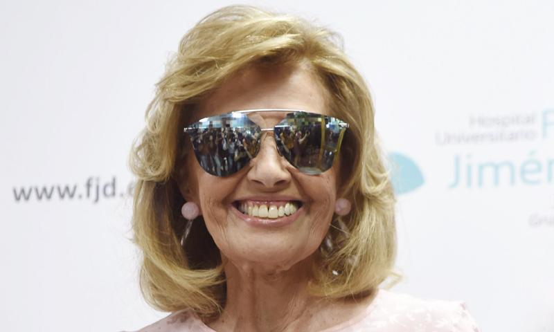 Las lágrimas de María Teresa Campos: 'Parece que no me ha pasado nada, aunque me ha pasado mucho'