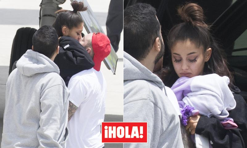 Exclusiva en HOLA.com: Primeras imágenes de Ariana Grande tras el dramático atentado de Mánchester