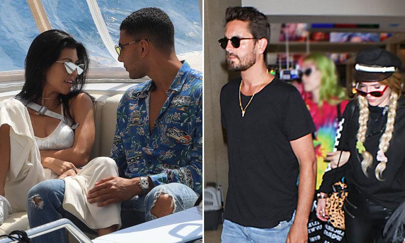 Kourtney Kardashian presume de su nueva y joven conquista en Cannes... ¡y su ex también!