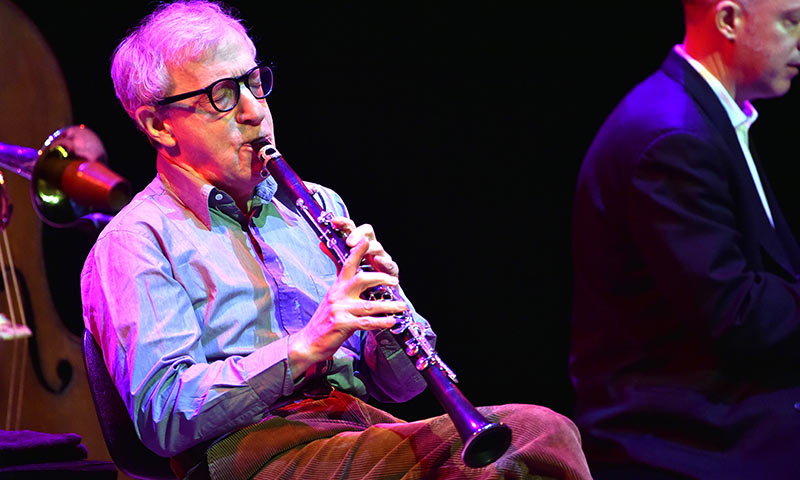 Woody Allen y su 'New Orleands Jazz Band' a punto de colgar el cartel de 'sold out' en España