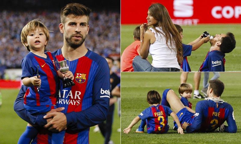 Los pequeños del Barça, los otros protagonistas en la final de la Copa del Rey