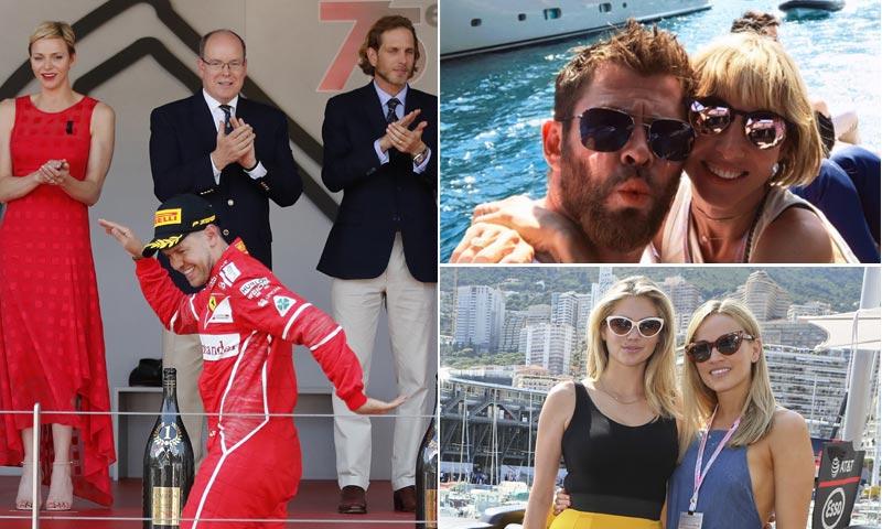 El Gran Premio de Fórmula1 de Mónaco se llena de 'celebrities' apasionadas por la velocidad