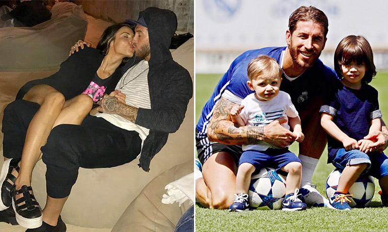 Sergio Ramos se pone romántico: 'Contigo lo tengo todo'