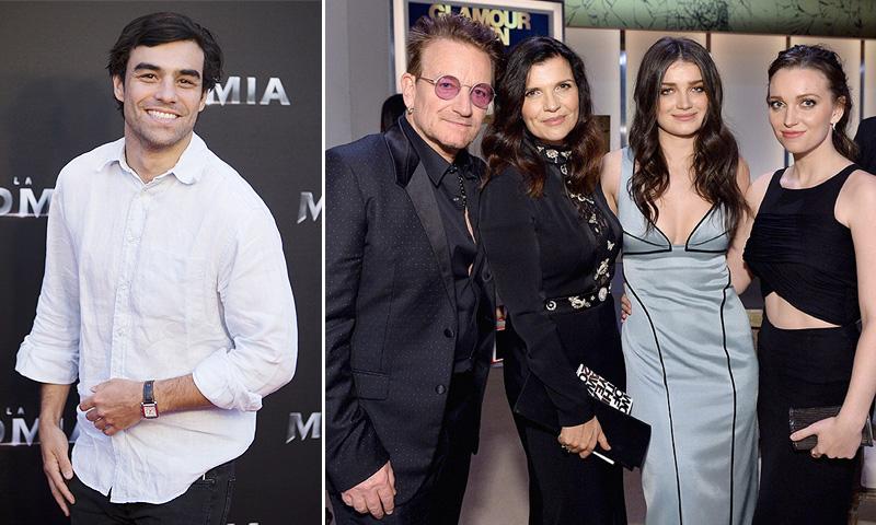 Diego Osorio, feliz y enamorado pero... ¿ha conocido ya a su 'suegro', Bono de U2?