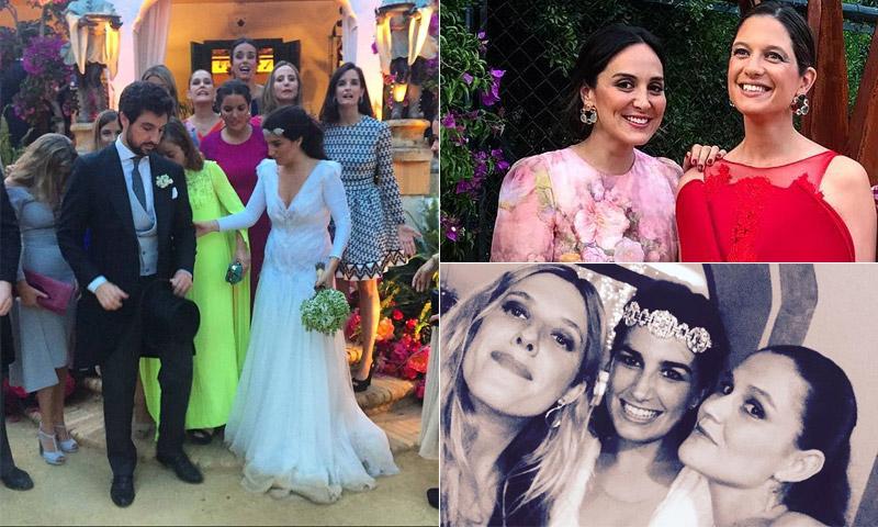 Tamara Falcó no se pierde la boda de las flores